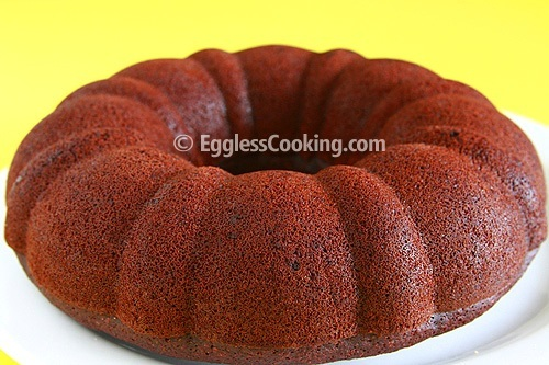 Vegan Chocolate Banana Cake Recipe | Eggless Cooking