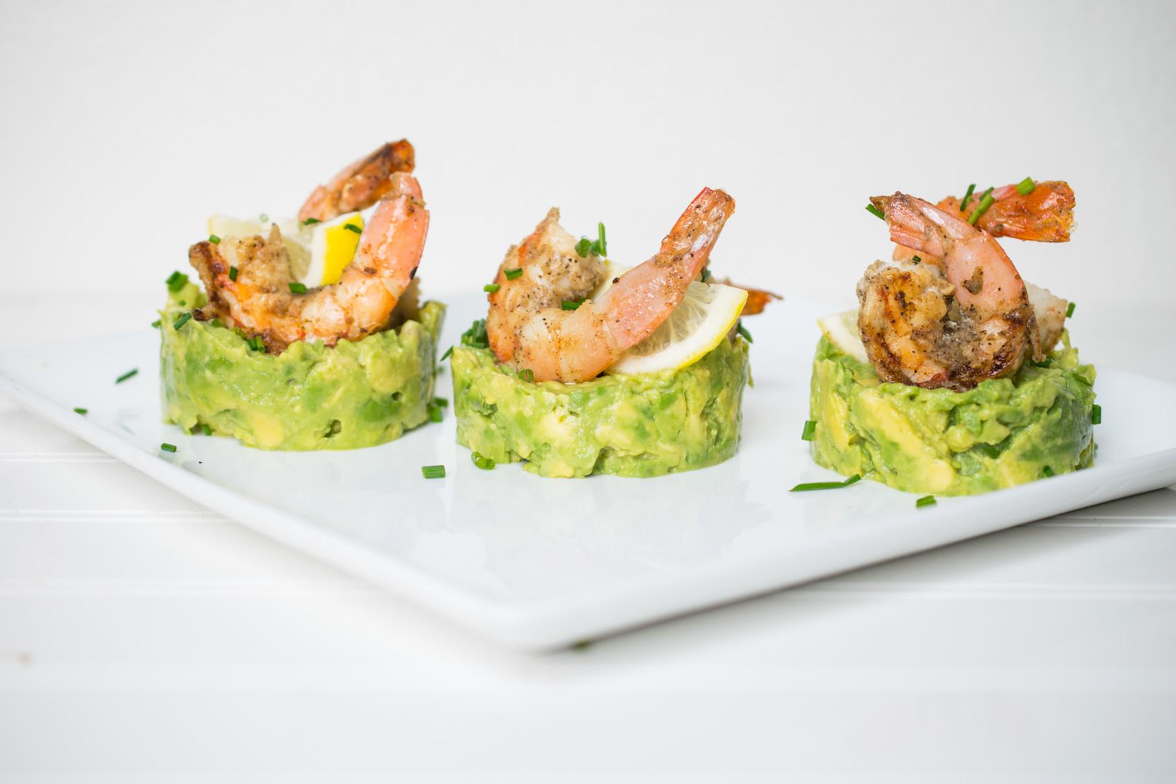 Grilled Shrimp + Avocado Appetizer – Castaway Kitchen