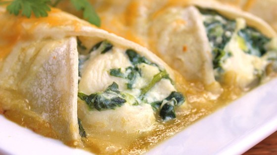 Spinach Enchiladas Recipe - Allrecipes.com