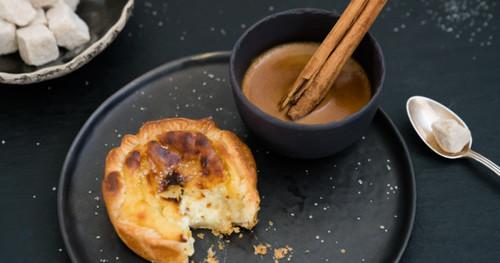 Portugiesischen puddingtortchen pasteis de nata kraut und ruben