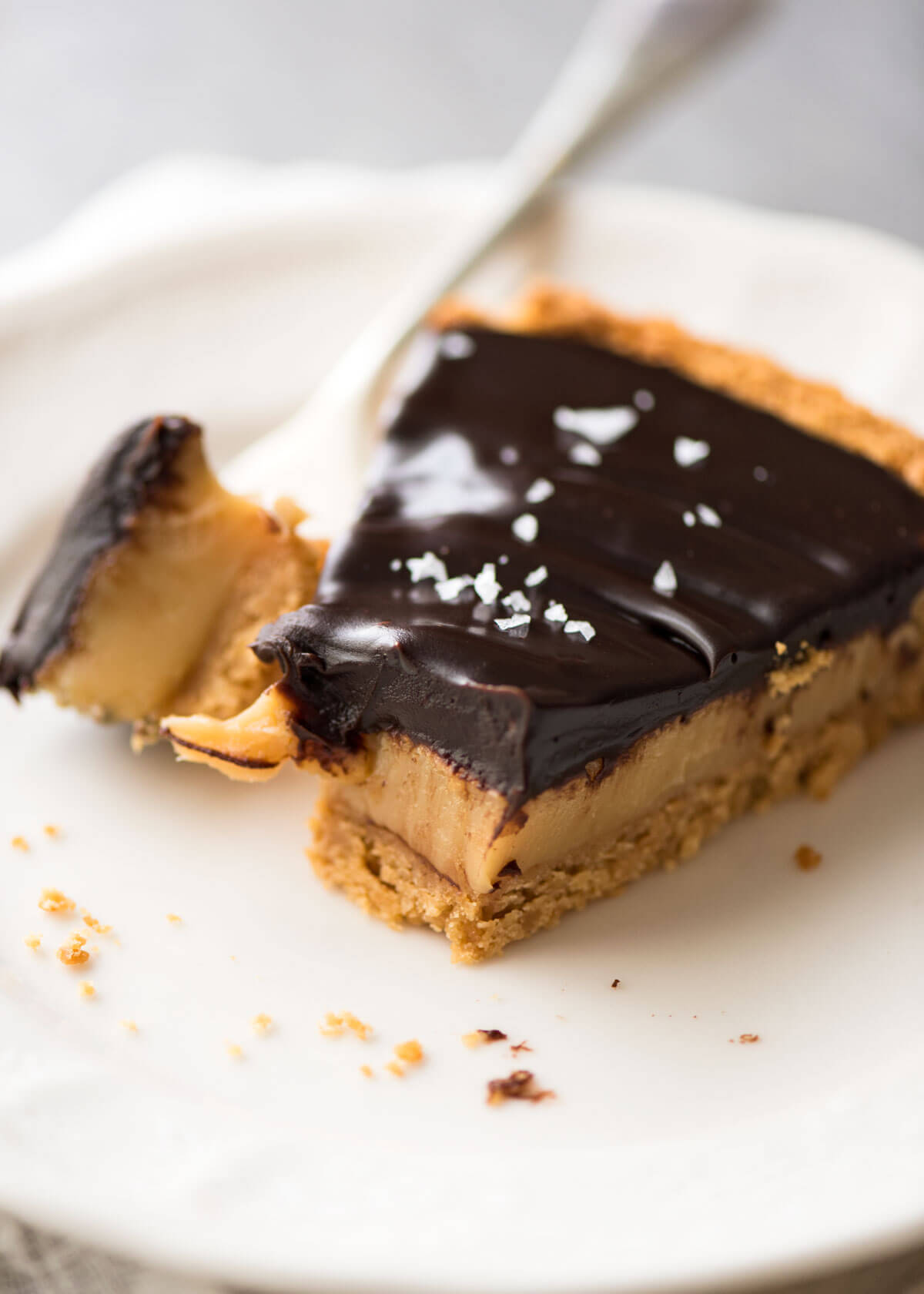 Salted Caramel Tart | RecipeTin Eats
