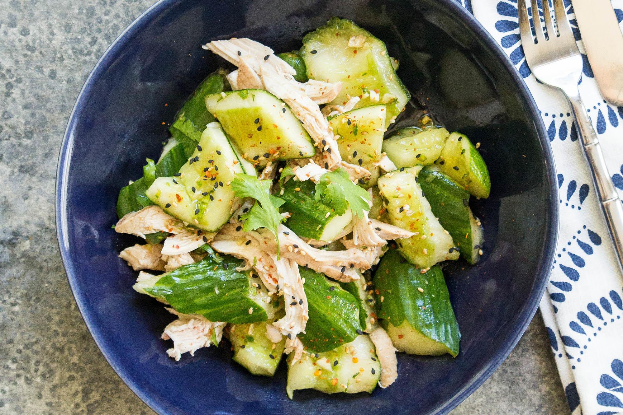 Chinese Smashed Cucumber Salad Recipe | SimplyRecipes.com