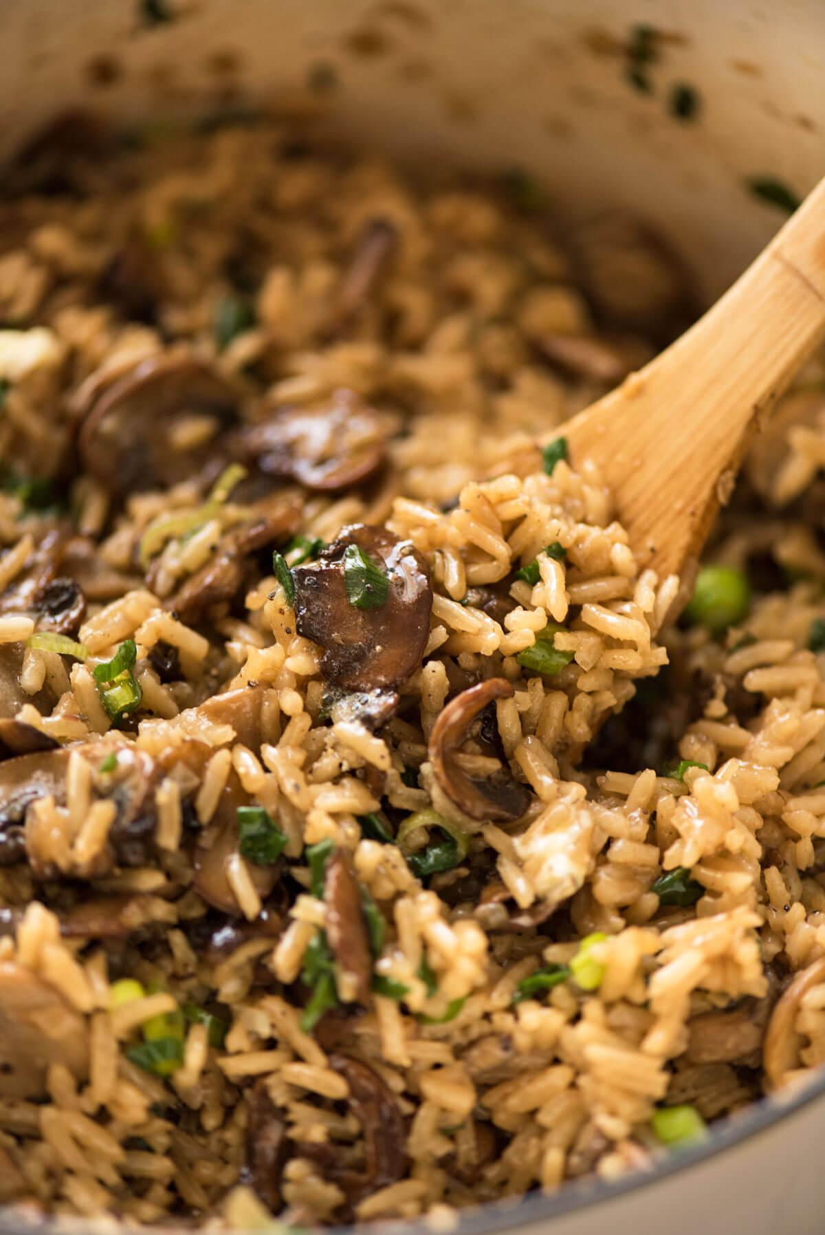 Mushroom Rice | RecipeTin Eats