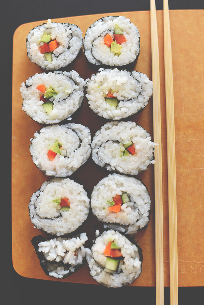 How to Make Sushi at Home | Minimalist Baker Recipes