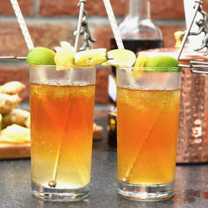 Classic Dark 'n Stormy with Rum Float