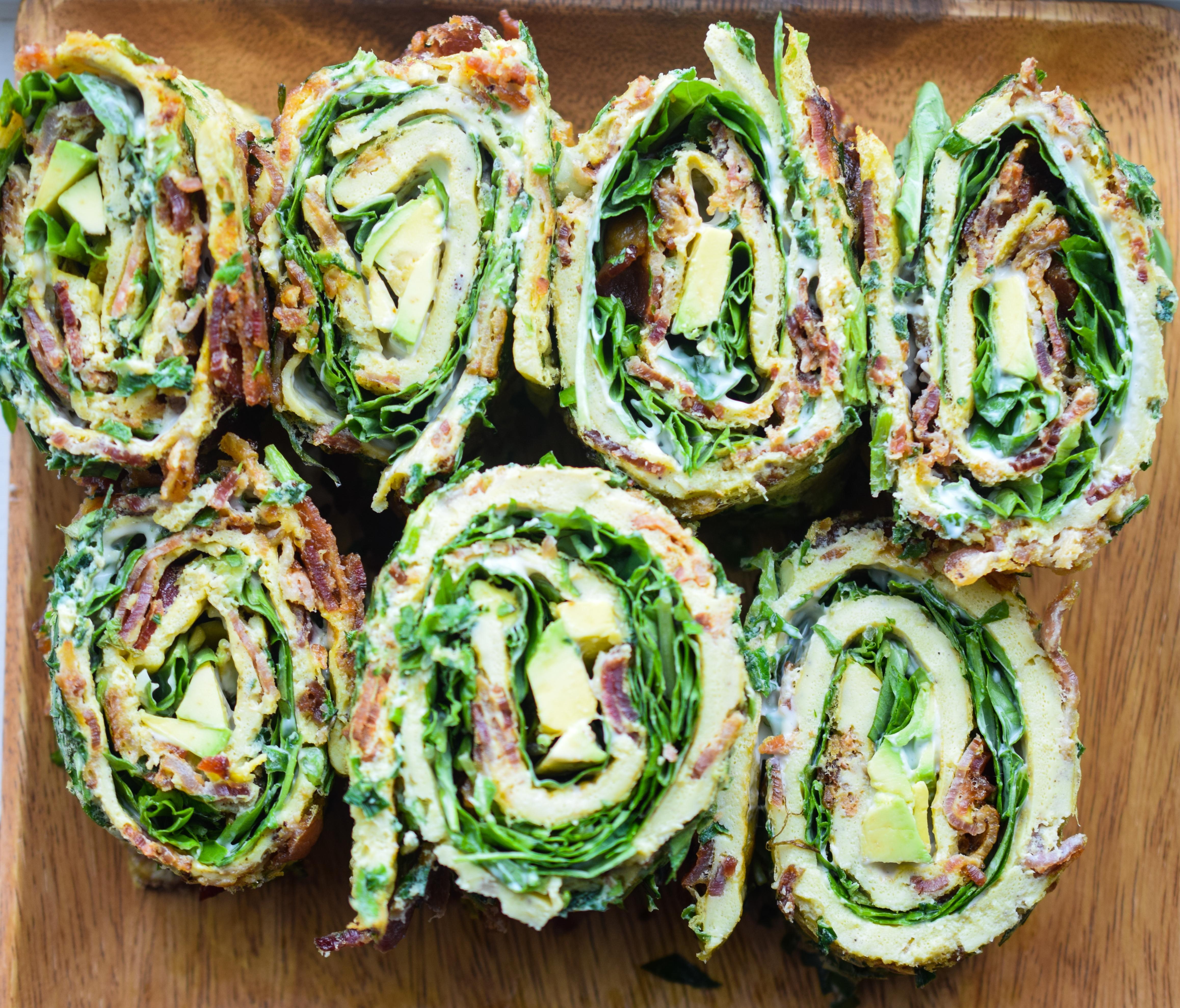 Egg Roll Up: Bacon, Basil + Greens (Whole30, Paleo, Keto, LCHF) – Castaway Kitchen