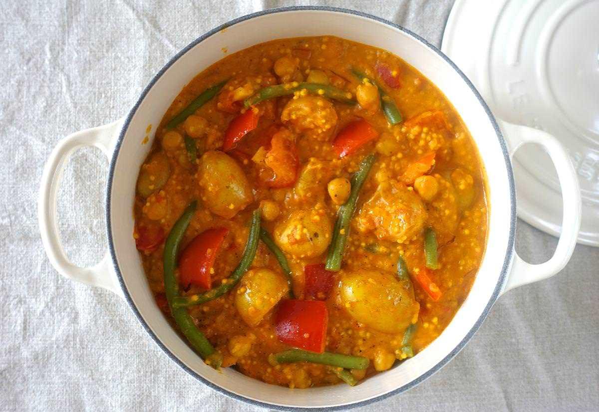 Rezepte: Gemüse-Curry mit Hirse und Kurkuma | NZZ Bellevue