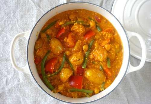 Rezepte gemuse curry mit hirse und kurkuma nzz bellevue