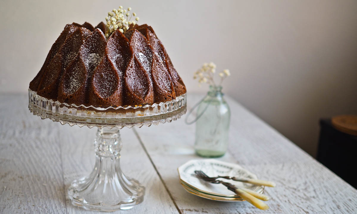 Federica, the Fabulous Mandarin Olive Oil Bundt Cake