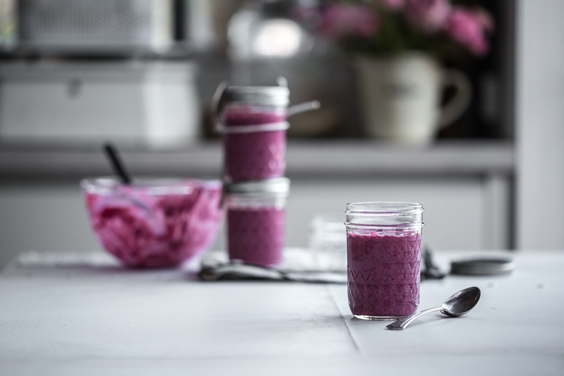 Blackberry Overnight Oats - Cook Republic