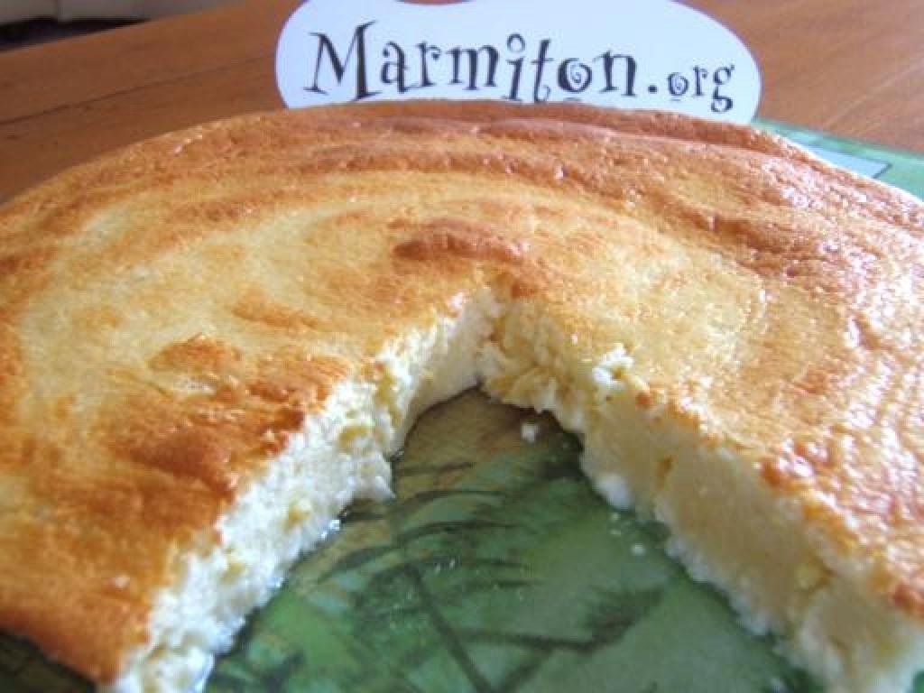Le gâteau au fromage blanc inratable (sans gluten)
