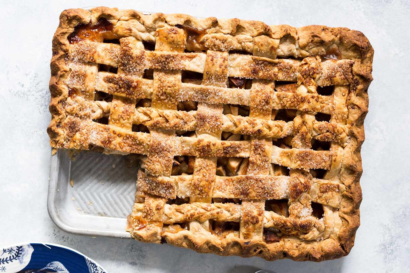 Apple Slab Pie Recipe | SimplyRecipes.com