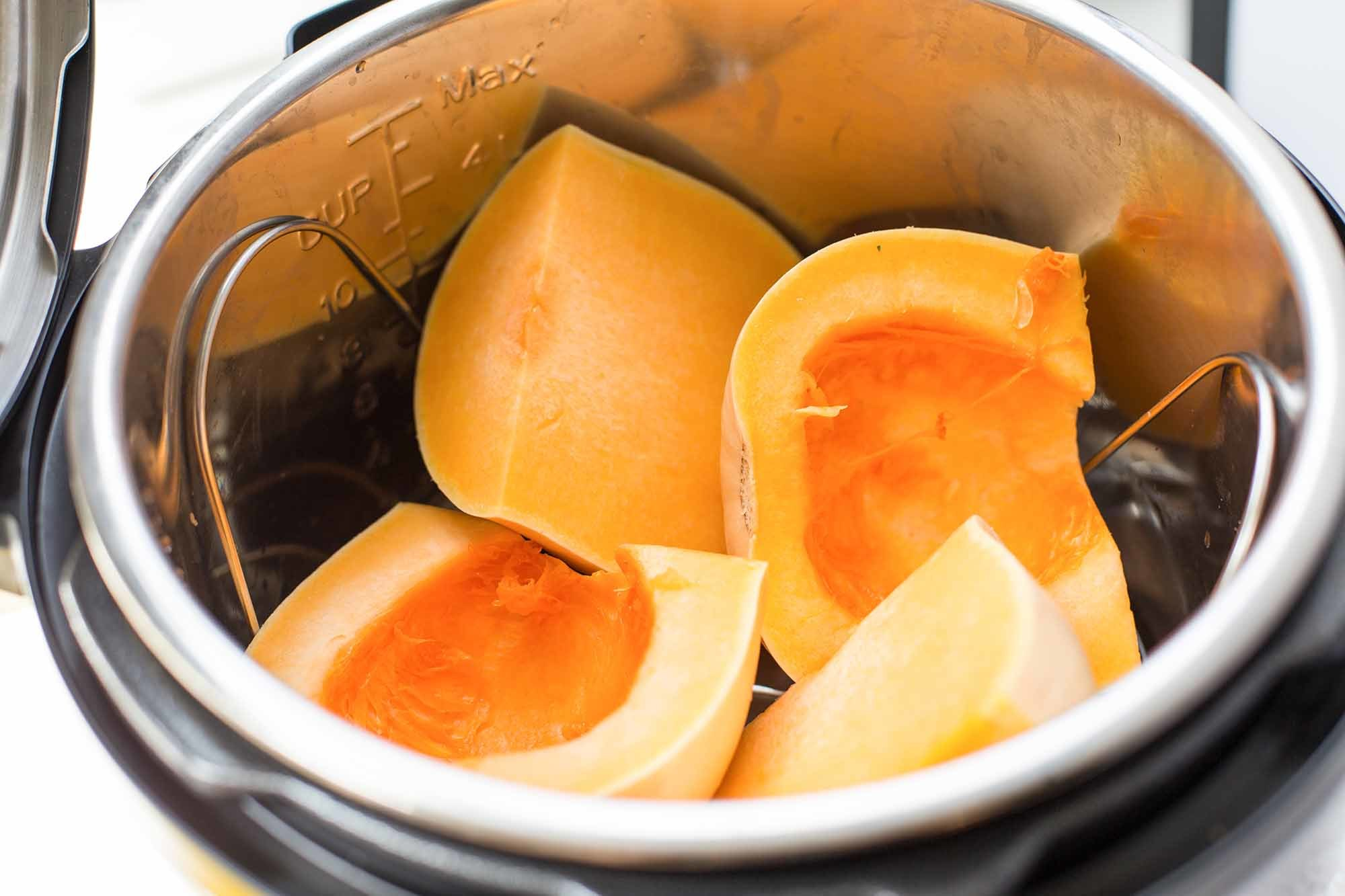 How to Cook a Whole Butternut Squash in the Pressure Cooker | SimplyRecipes.com