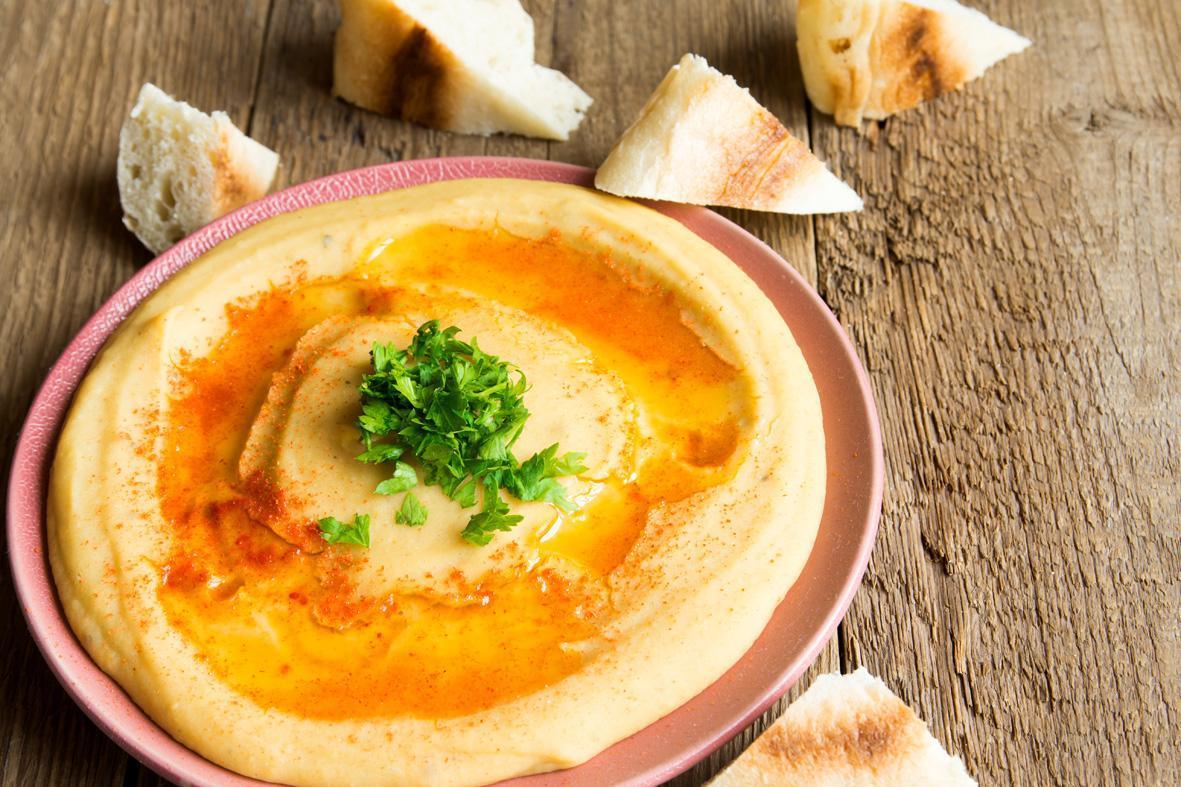 Rezept: Hummus mit frischem Koriander | NZZ Bellevue