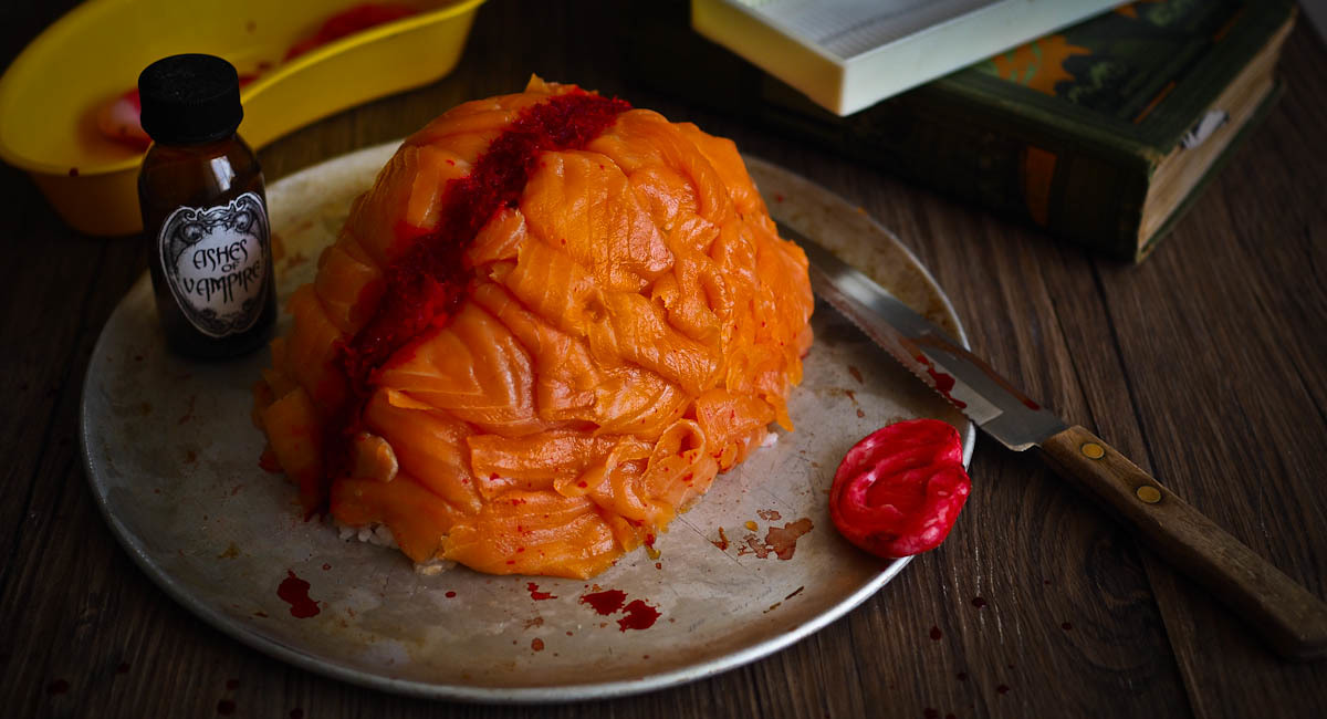 Dr Death's Sushi Brain For Halloween!