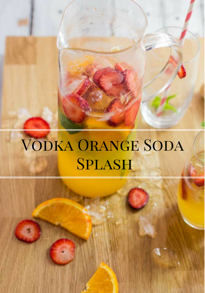 Orange Vodka Soda Splash. Summer Drinks | My Kitchen Stories