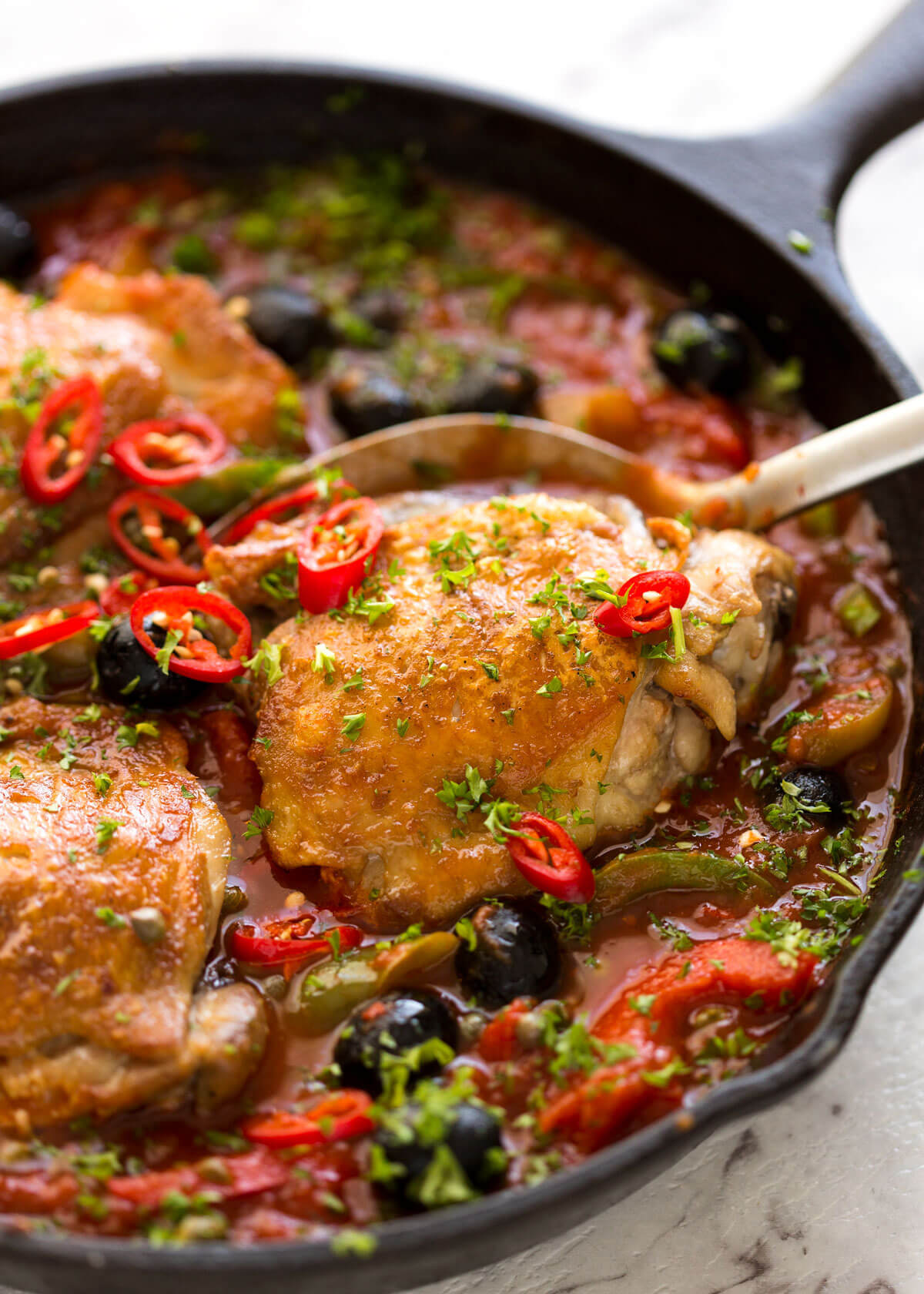 Spicy Italian Chicken Casserole | RecipeTin Eats
