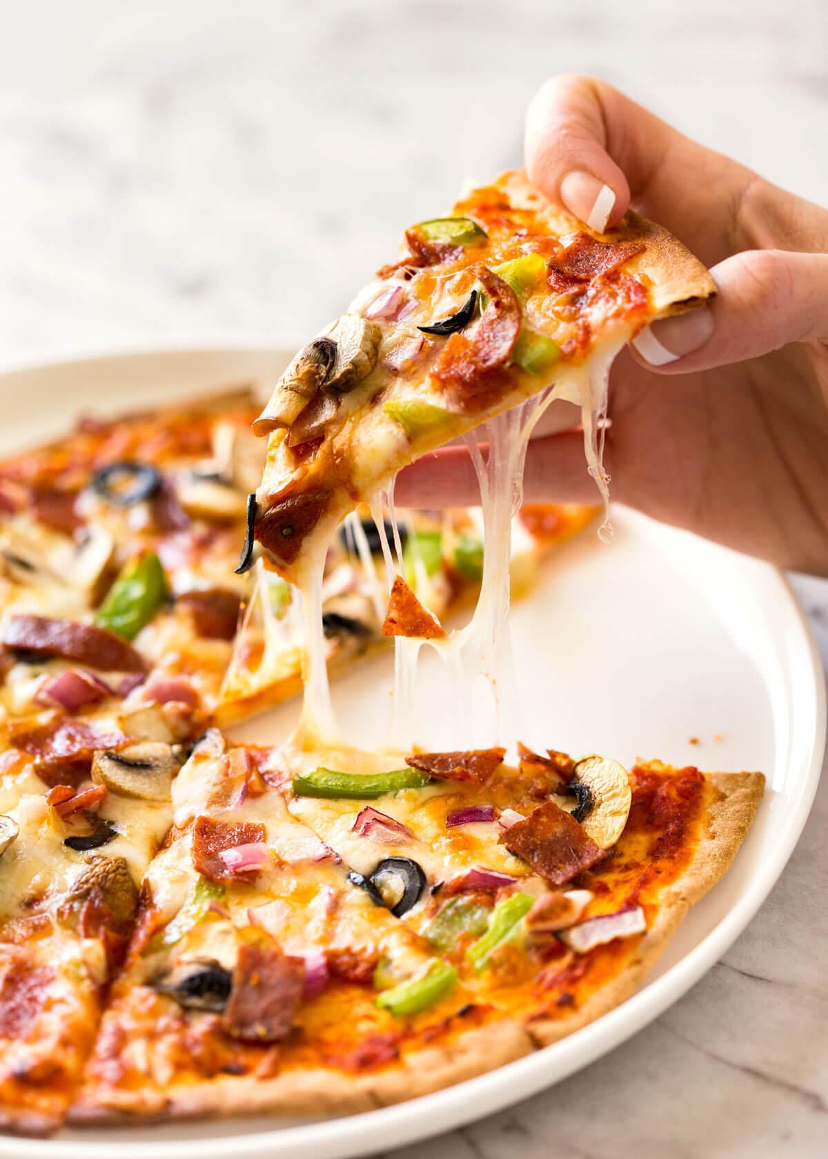 $2 Homemade Frozen Pizzas (Quick 'n Easy) | RecipeTin Eats