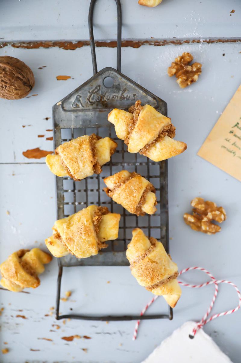 Walnuss Hörnchen Kekse | Zucker, Zimt und Liebe
