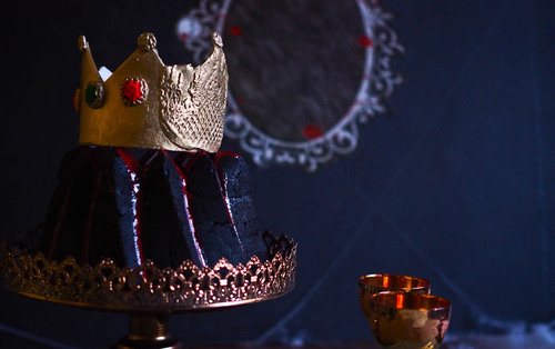 Snow white s evil queen surprise bundt cake nqn turns 10 years old
