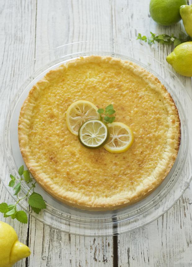 Rezept: Lemon Pie von der Insel | NZZ Bellevue